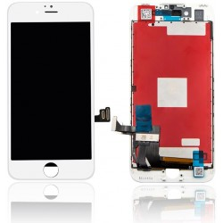 LCD Originale LG iPhone 7 Vetro Flat Compatibile AA+ Bianco