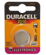 10 Pile a bottone Duracell DL2016 1x 3v - litio 10 blister