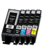 22ML Com for Canon Pixma IP7250,MG5450,MG6350PGI-550XLPGBK.