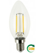 FSL C35 4W-400LM300º-35x98mm-2700K-E14AC220-240V DIMMABLE