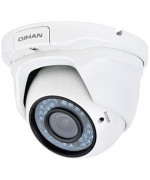 IP 4.0 Megapixel, DOME, PoE,Focus 2.8-12mm,42 LEDs