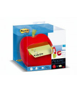 Dispenser Post-it® Z-Notes MELA + 1 blocchetto 76 mm x 76 mm