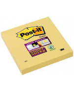 Post-it® Super Sticky Giallo Canary ™- 76x76 mm - Conf. 12pz