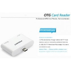 OTG e Card Reader per OS Android 4.0 o Superiore