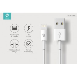 Cavo Dati e Carica Lightning iPhone e iPad IOS 8 Bianco