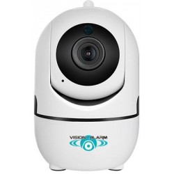 Telecamera Wifi smart 720p con AUTOTRACK, salva su SD/CLOUD