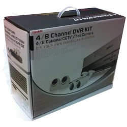 Kit Analogico, 1 DVR 1080N, 2 bullet e 2 dome AHD 720p