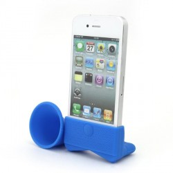 Blue Amplifiesa style horn stand