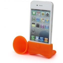 Orange Amplifiesa style horn stand