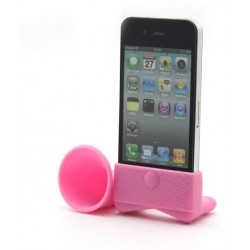 Pink Amplifiesa style horn stand