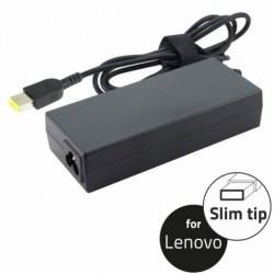 Notebook Adapter for Lenovo 20V 90W 4.5A, slim tip