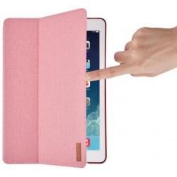 Cover Flax Flip Case per iPad Pro 10.5 in Pelle Rosa