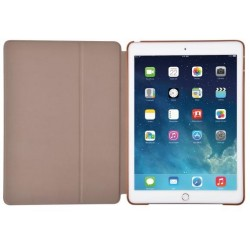 Cover Flax Flip per iPad Pro 12.9 in Pelle Champagne Gold