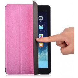 Cover Devia Per iPad Mini 4 con funzione On/Off Rosa