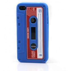 Blue Tape silicon case for iphone 4/4s