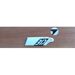 CF tail blade for helicopter (62mm)