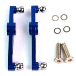 metal flybar control arm set nero