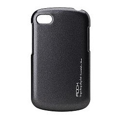 Cover Rock Blackberry naked shell series polycarbonato Nero