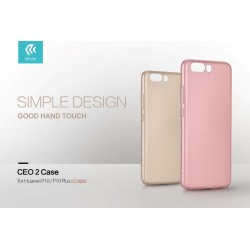 Cover CEO Microfibra Per Huawei P10 Rose Gold