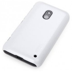 Cover Rock Naked Shell serie in Policarb Lumia 620 Bianco