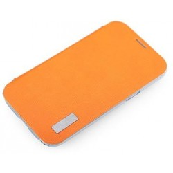 Cover Rock Elegant serie in Policarb Samsung Note2 Arancion