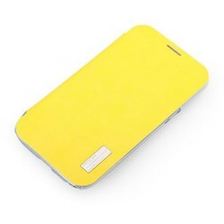 Cover Rock Elegant serie in Policarb Samsung Note2 Giallo