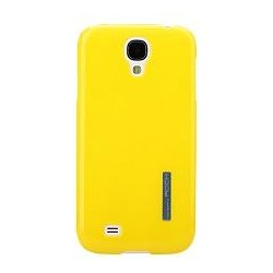 Cover Rock Ethereal shell in Policarb per Samsung S4 Giallo