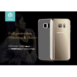 Cover Glimmer 0.6 mm per Samsung Galaxy S7 Oro