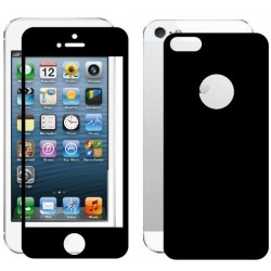 Skin Carbon fronte retro per Apple iPhone 4 - 4s
