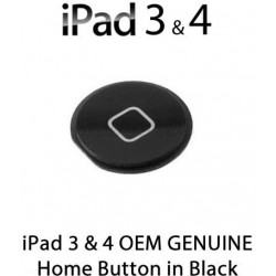 Pulsante Home per New iPad (iPad 3) / iPad 4 , Nero
