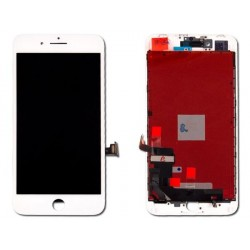 LCD Originale LG Vetro Rigenerato A+ iPhone 8 Plus Bianco