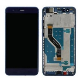 Huawei P10 Lite LCD Display Touch + Frame Originale Blu