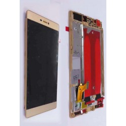 LCD + Touch ORIGINALE con Frame per Huawei P8 Gold
