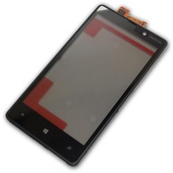 Touch Screen con Frame Nokia lumia 820