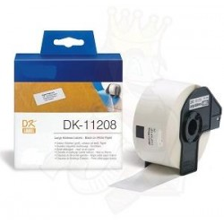 White 38mmX90mm 400psc for Brother P-Touch QL1000 1050 1060
