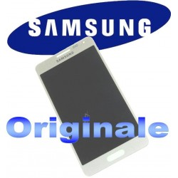 LCD + TOUCH FULL SET PER GALAXY ALPHA BIANCO GH9716386D