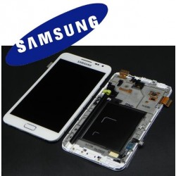 DISPLAY SAMSUNG GALAXY NOTE N7000 BIANCO ORIGINALE 9712948B