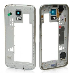 Frame Intermedio per Samsung Galaxy S5 Bordo Argento