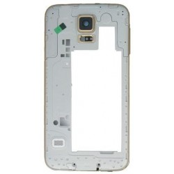 Frame Intermedio per Samsung Galaxy S5 Bordo Oro