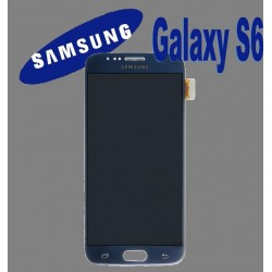LCD + TOUCH ORIGINALE PER GALAXY S6 NERO GH97-17260A