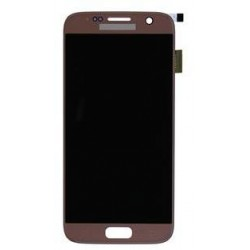 LCD + TOUCH PER GALAXY S7 ORIGINALE ROSE GOLD GH97-18523E